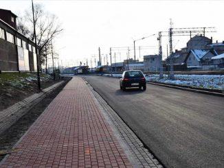 Ulica Fabryczna już po modernizacji [ZDJĘCIA]