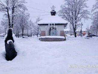Kolbuszowa pod śniegiem [ZDJĘCIA, WIDEO]
