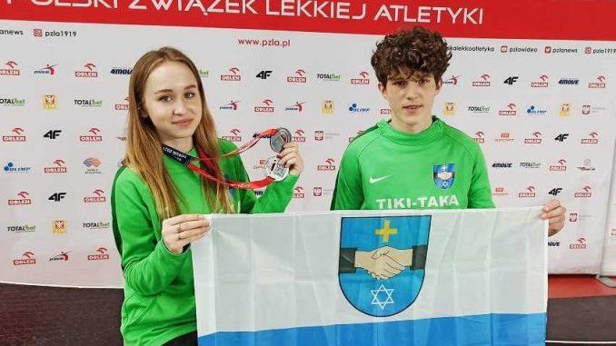Magda Niemczyk z medalem Mistrzostw Europy