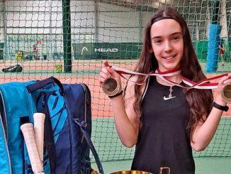 Oliwia Sybicka podwójną mistrzynią Polski