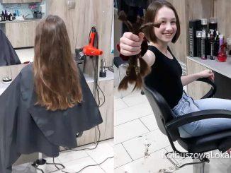 Oddała swoje włosy Fundacji Rak'n'Roll [ZDJĘCIA]