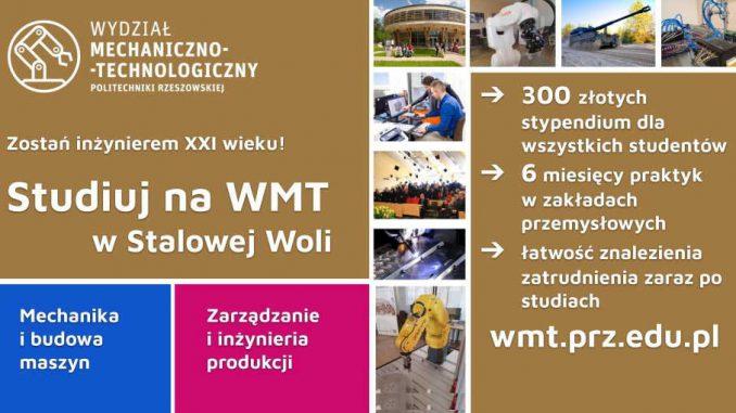 Studia inżynierskie na Wydziale Mechaniczno-Technologicznym w Stalowej Woli